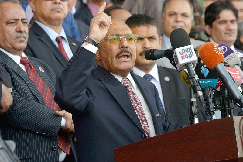Ex-Präsident Saleh bei Kämpfen getötet
