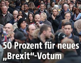 Menschenmenge in London