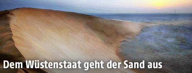 Sanddüne in Katar