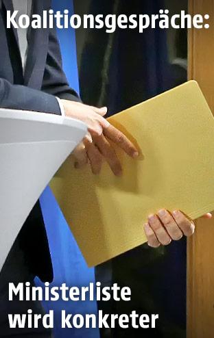 Detail aus Koalitionsverhandlungen