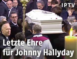 Begräbnis von Johnny Hallyday