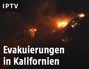 Buschfeuer in Kalifornien