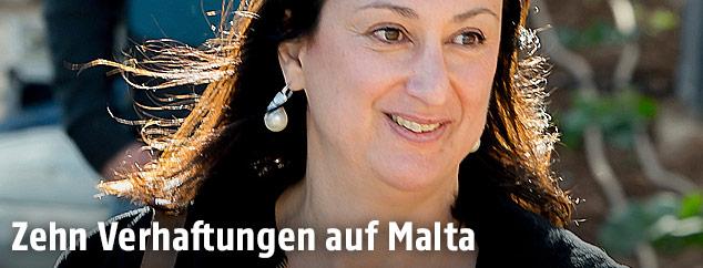 Ermordete maltesische Journalistin Daphne Caruana Galizia
