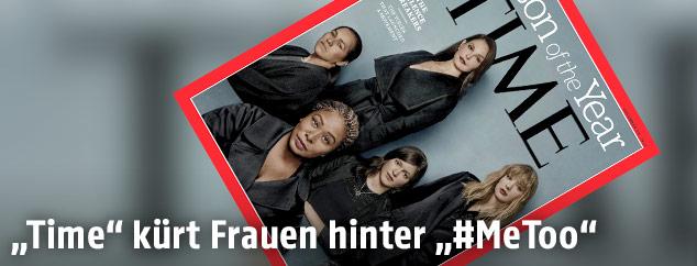 "Cover des US-Magazins ""Time"" mit den Personen des Jahres"