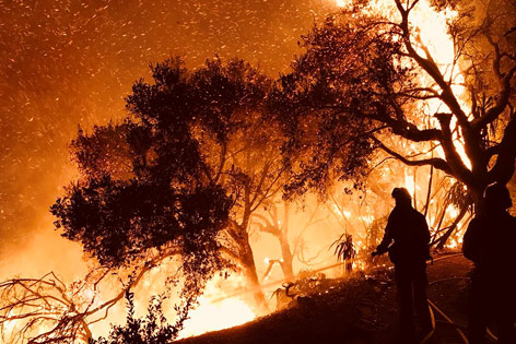 Brände in Südkalifornien