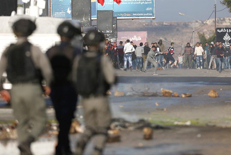 Unruhen in Nablus