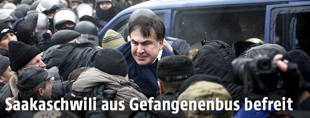 Befreiung von Micheil Saakaschwili