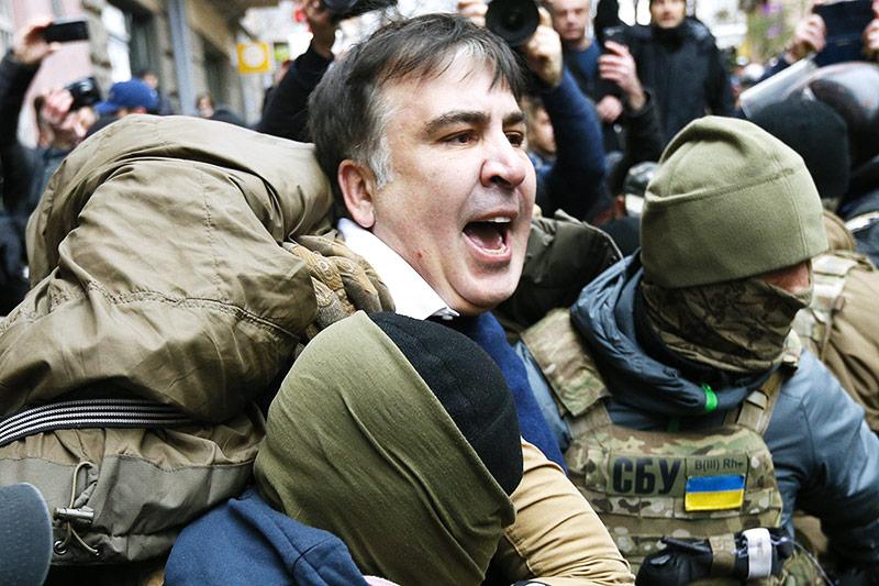 Festnahme von Micheil Saakaschwili