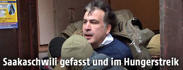 Der georgische Ex-Präsident Michail Saakaschwili