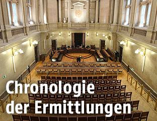 Schwurgerichtssaal im Wiener Landesgericht