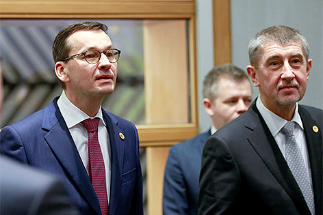 Mateusz Morawiecki und Andrej Babis