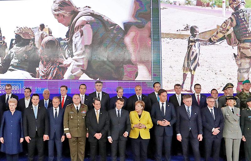 Gruppenfoto der EU-Regierungschefs