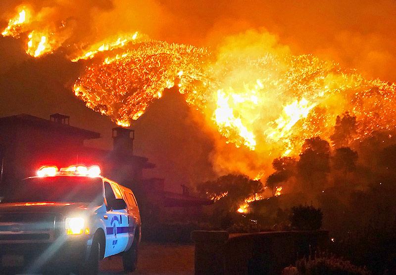 Weitere Räumungen wegen Waldbränden in Kalifornien