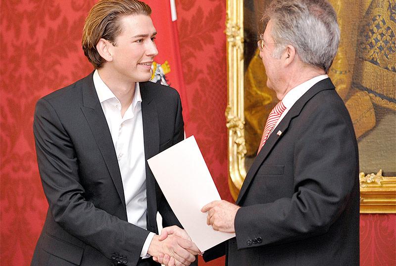 Sebastian Kurz und Heinz Fischer 2011