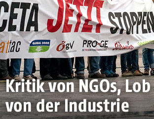 Anti-CETA-Demonstration in Wien