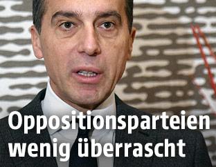 SPÖ-Obmann Christian Kern