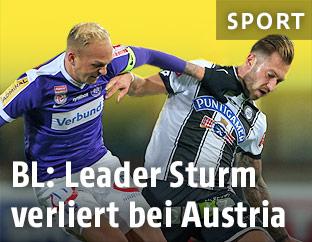 Raphael Holzhauser (Austria) und Peter Zulj (Sturm)