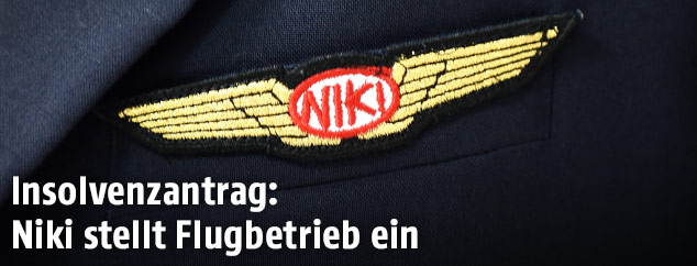 Niki-Pilotenaufnäher