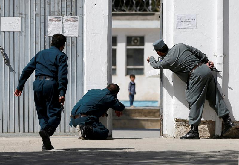 Afghanische Polizeikräfte