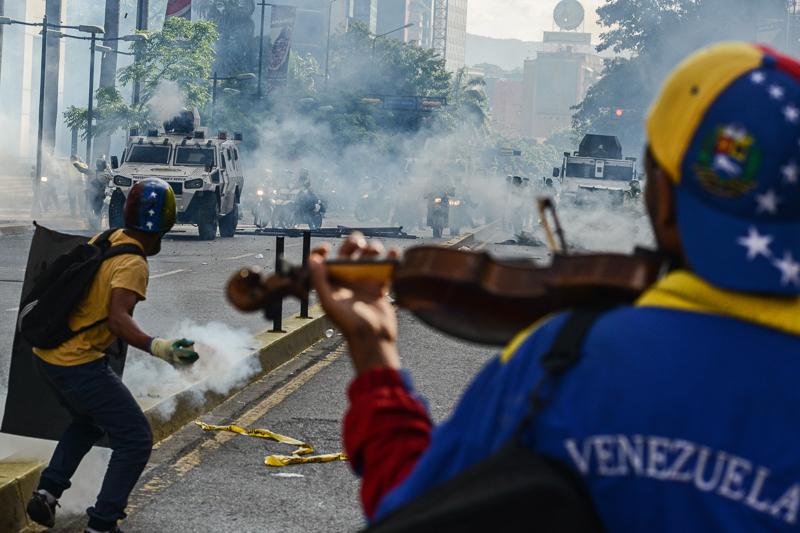 Ausschreitungen in Venezuela