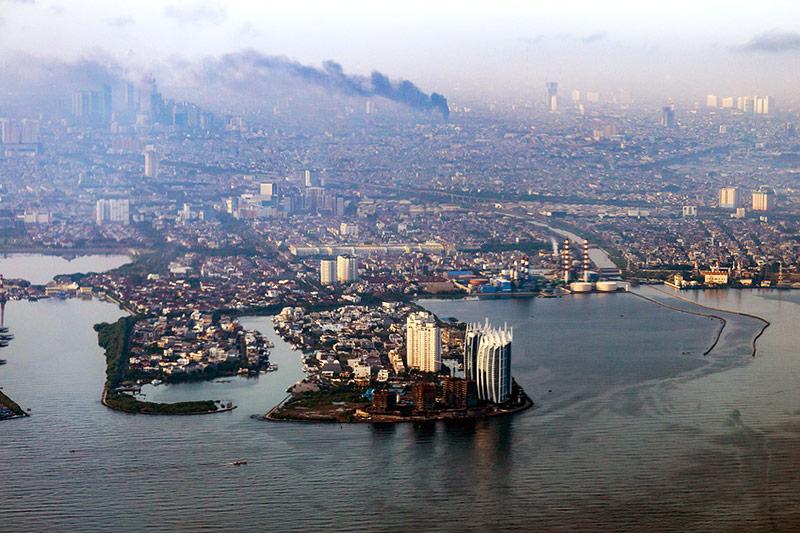 Ansicht von Jakarta