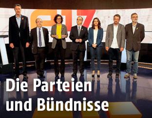 Kandidaten der Parteien der Katalonien-Wahl