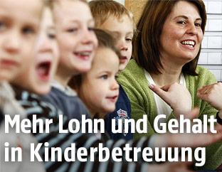 Kindergartenpädagogin