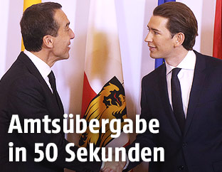 Christian Kern und Sebastian Kurz