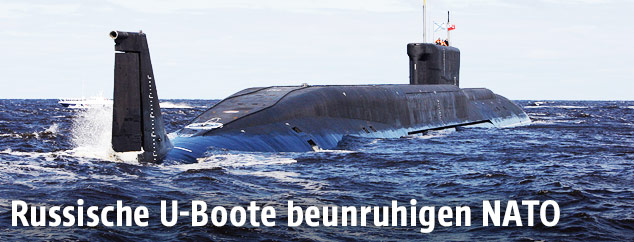 Russisches Atom-Uboot