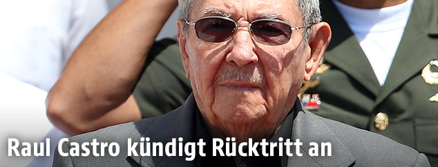 Der kubanische Präsident Raul Castro