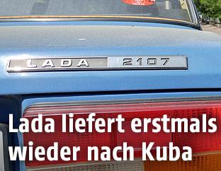 Ein Lada-Auto