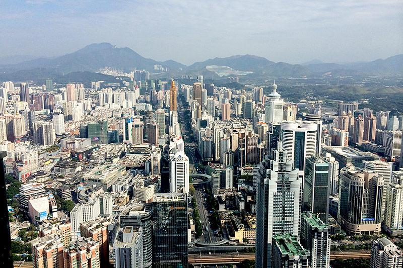 Bastler in Shenzhen