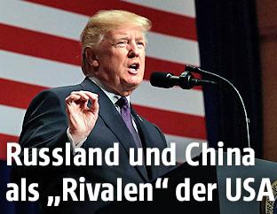 Rede von US-Präsident Donald Trump