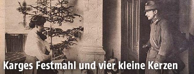 weihnachten 1917 karges festmahl und vier kleine kerzen. Black Bedroom Furniture Sets. Home Design Ideas