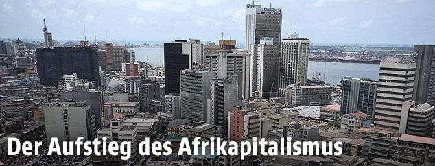 Stadtansicht von Lagos