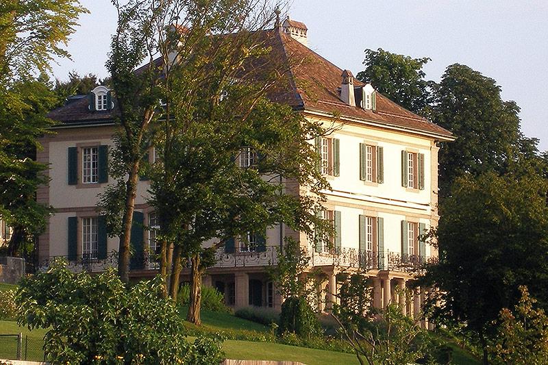 Villa Diodati am Genfer See