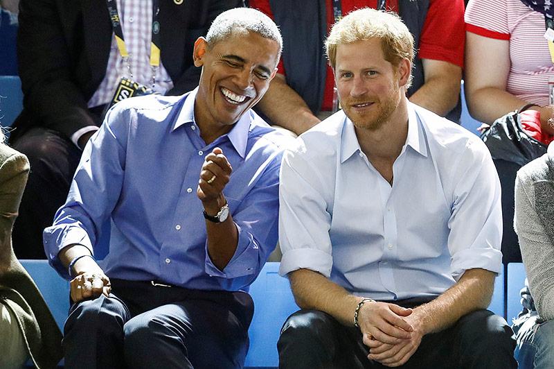 Darf Prinz Harry Barack Obama zur Hochzeit einladen?