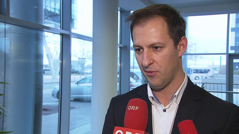 Niki-Betriebsratschef Stefan Tankovits