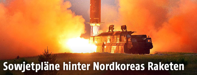 Start der Rakete Hwasong-10 in Nordkorea