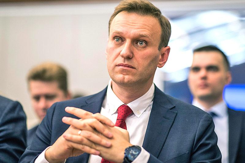 Der russische Oppositionspolitiker Alexej Nawalny