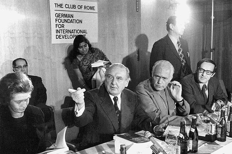 Jahrestagung des Club of Rome in Berlin, 1974