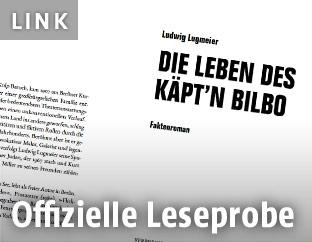 """Leseprobe des Buchs: """"Die Leben des Käpt'n Bilbo"""""""
