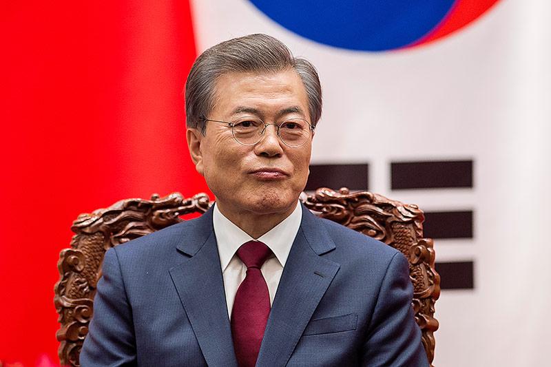 Südkoreanischer Präsident Moon Jae-In