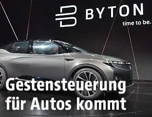 """Auto """"Byton"""" auf der CES"""