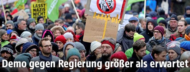 Demonstrationin Wien