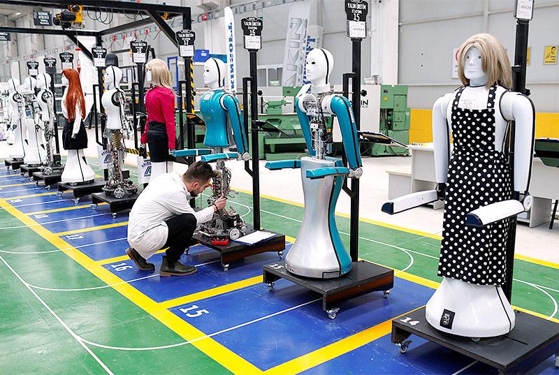 Roboterfabrik in der Türkei