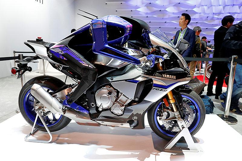 Selbstfahrendes Motorrad