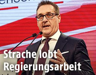 Bundesparteiobmann Heinz Christian Strache (FPÖ)