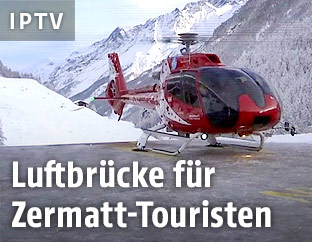 Helikopter in Zermatt