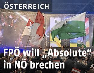 FPÖ-Niederösterreich Wahlkampfauftakt in Vösendorf